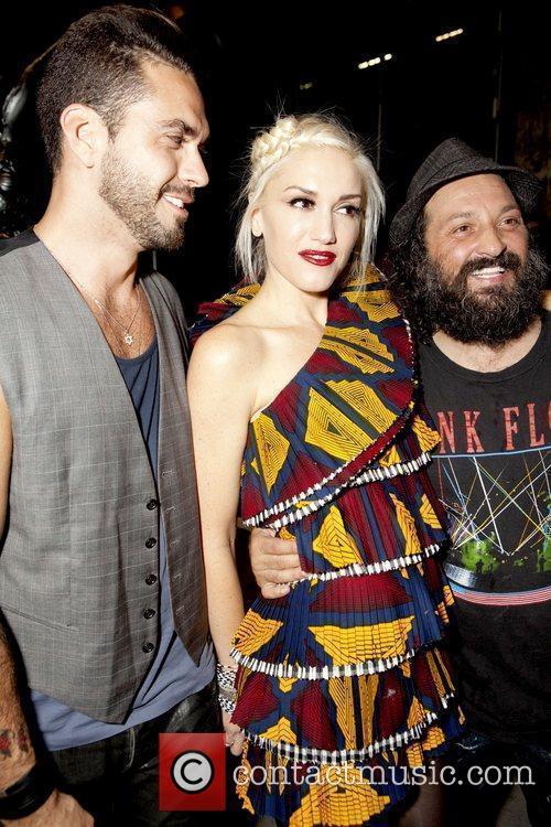 Lorenzo Martone, Gwen Stefani and Mr. Brainwash aka...