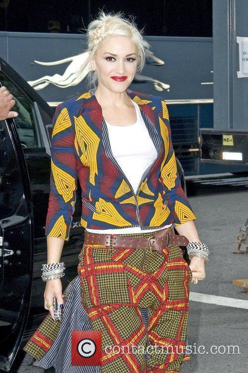 Gwen Stefani Mercedes-Benz IMG New York Fashion Week...