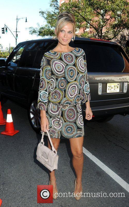 Molly Sims Mercedes-Benz Fashion Week Spring 2010 -...