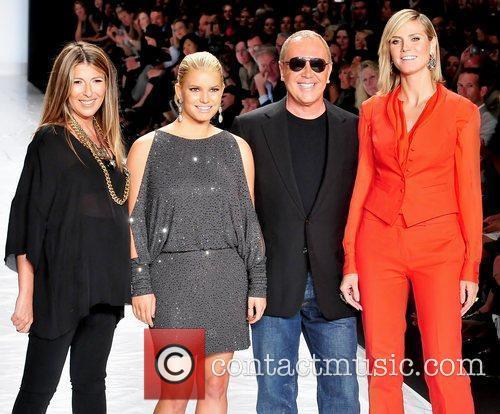Nina Garcia, Heidi Klum, Jessica Simpson and Michael Kors 11