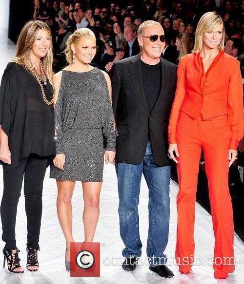 Nina Garcia, Heidi Klum, Jessica Simpson and Michael Kors 10