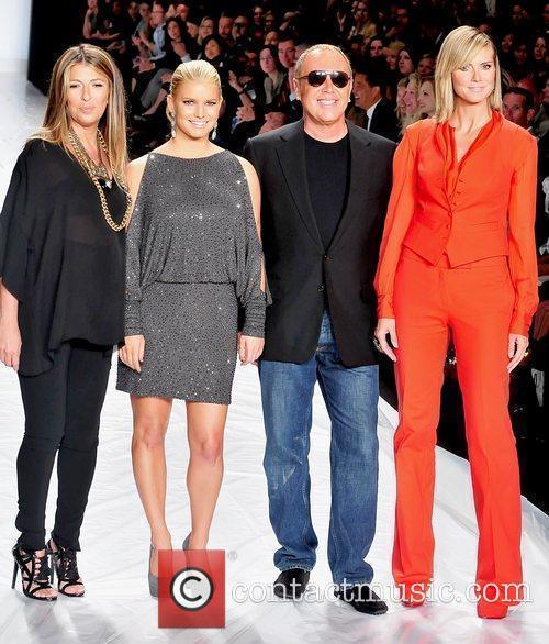 Nina Garcia, Heidi Klum, Jessica Simpson and Michael Kors 9