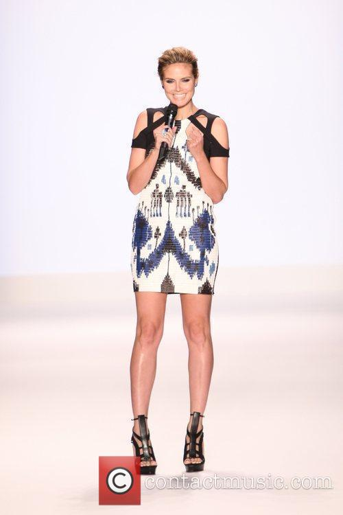 Heidi Klum, New York Fashion Week