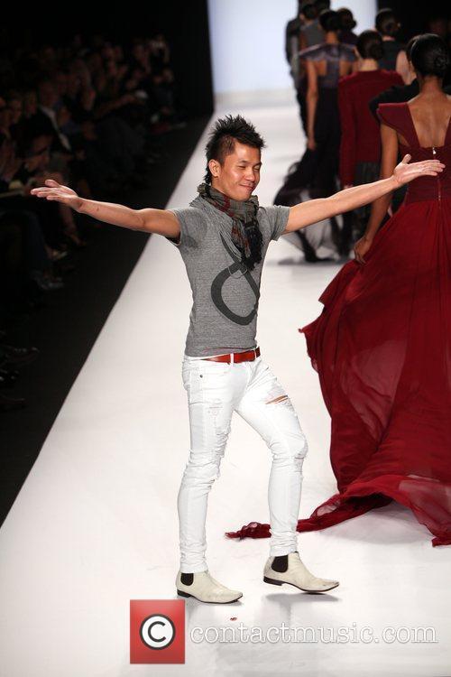 Jay Nicolas Sario Mercedes-Benz IMG New York Fashion...