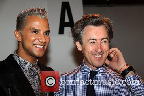 Jay Manuel and Alan Cumming  Mercedes-Benz IMG...