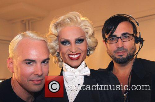 David Blond and Phillipe Blond with Mao Padilla...