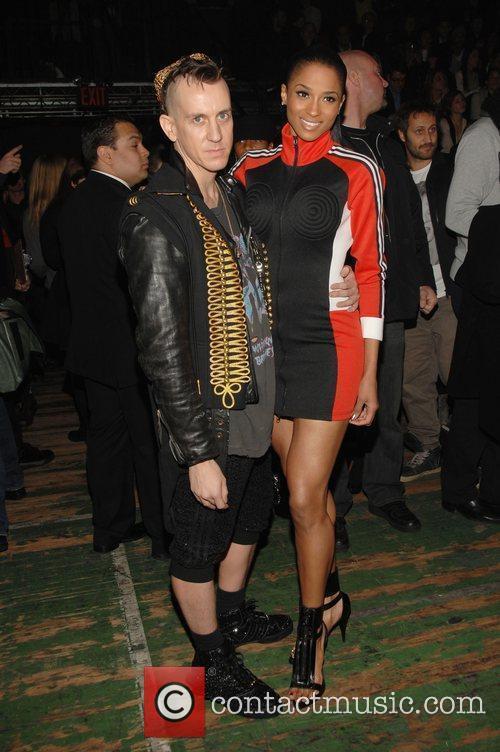Jeremy Scott and Ciara Mercedes-Benz IMG New York...