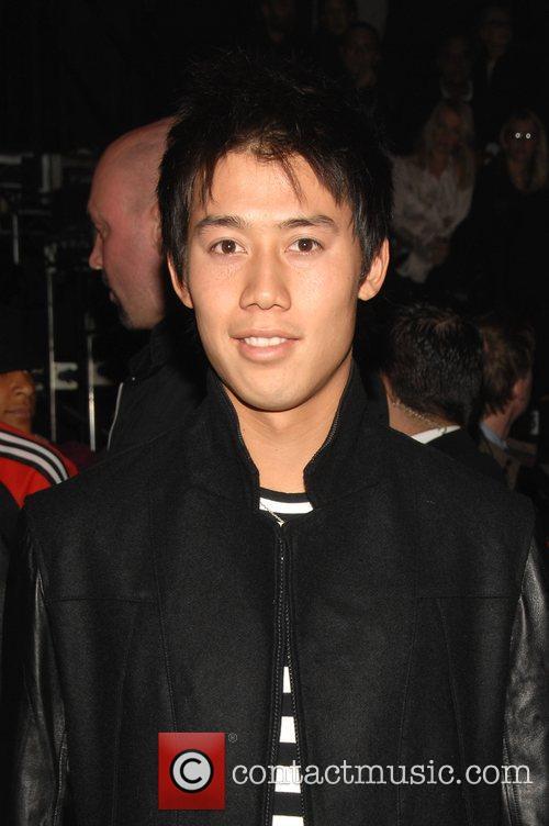 Kei Nishikori Mercedes-Benz IMG New York Fashion Week...