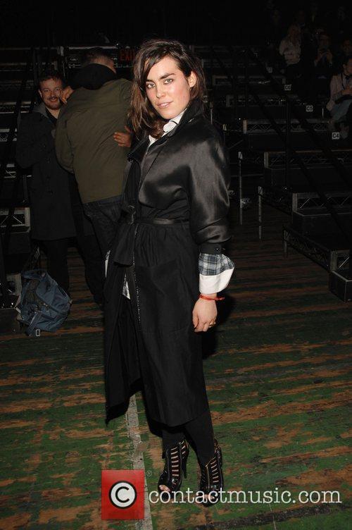 Tallulah Harlech Mercedes-Benz IMG New York Fashion Week...
