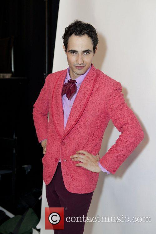 Designer Zac Posen Mercedes-Benz IMG New York Fashion...