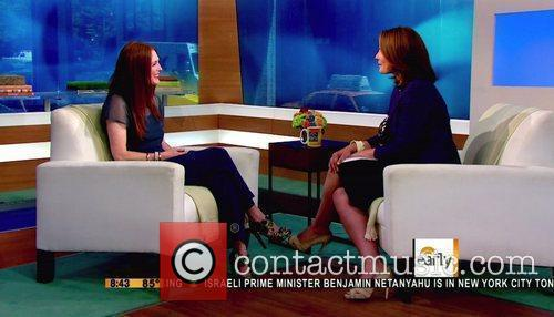 Julianne Moore appears on CBS's 'Early' to promote...
