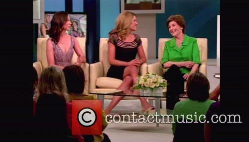 Former First Lady Laura Bush appears on ABC's...