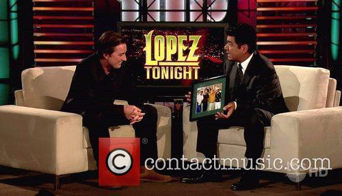 Appears on TBS's 'Lopez Tonight' to promote his...