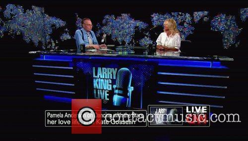 Pamela Anderson, Cnn, Dancing With The Stars and Larry King 5