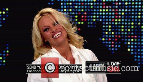 Pamela Anderson, Cnn, Dancing With The Stars and Larry King 8