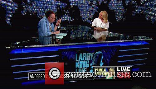 Pamela Anderson, Cnn, Dancing With The Stars and Larry King 4