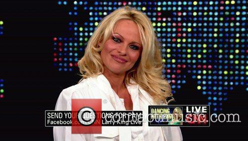 Pamela Anderson, Cnn, Dancing With The Stars and Larry King 3