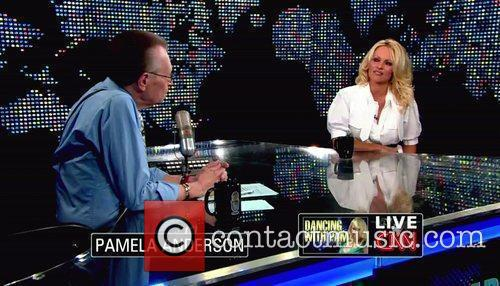 Pamela Anderson, Cnn, Dancing With The Stars and Larry King 7