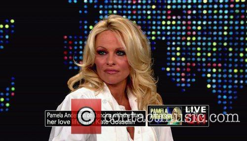 Pamela Anderson, Cnn, Dancing With The Stars and Larry King 2