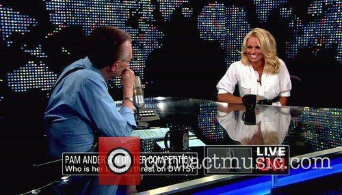Pamela Anderson, Cnn, Dancing With The Stars and Larry King 6