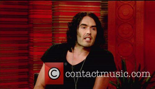 Russell Brand appears on ABC's 'Live with Regis...