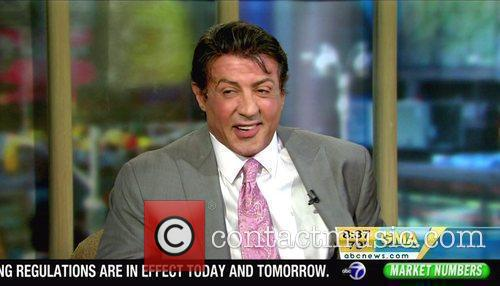 Sylvester Stallone appears on ABC's 'Good Morning America'...