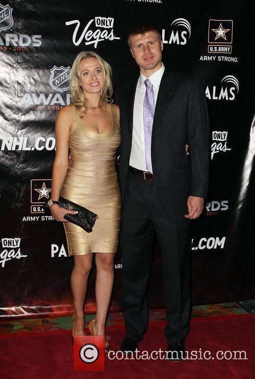 2010 NHL Awards red carpet arrivals held at...