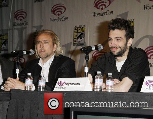Nicolas Cage, Jay Baruchel Promoting The New Movie The Sorcerer's Apprentice At The 2010 Wondercon In San Francisco and Ca. 7
