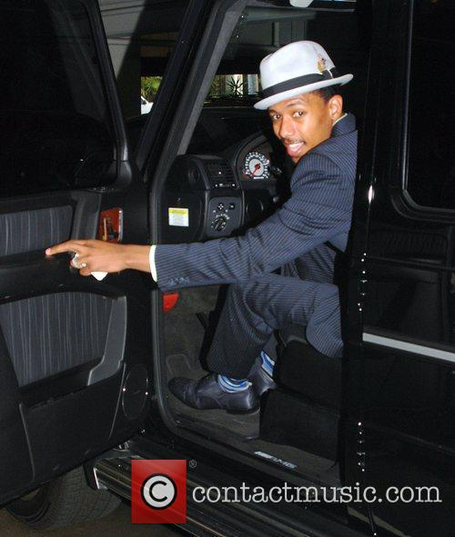Nick Cannon leaves a medical center in Beverly...