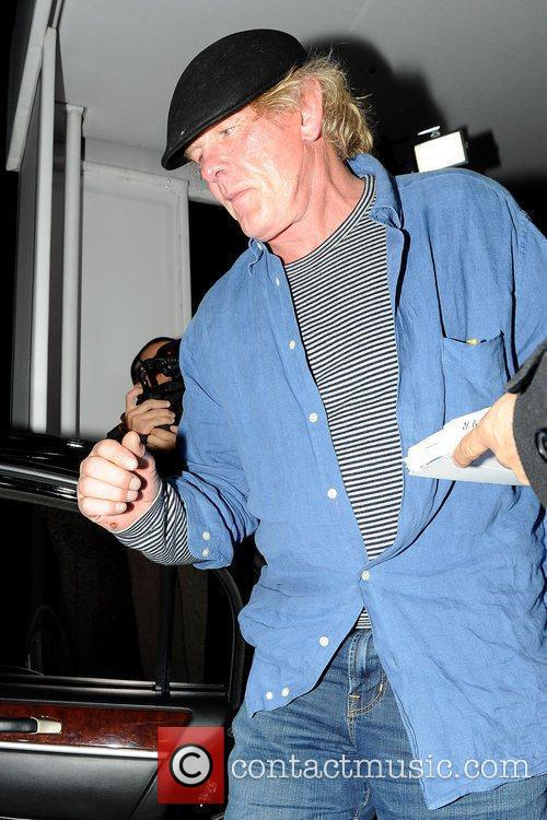 Nick Nolte leaving Philippe Chow after having dinner...