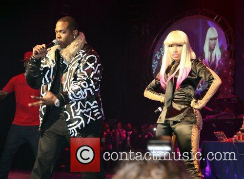 Busta Rhymes and Nicki Minaj
