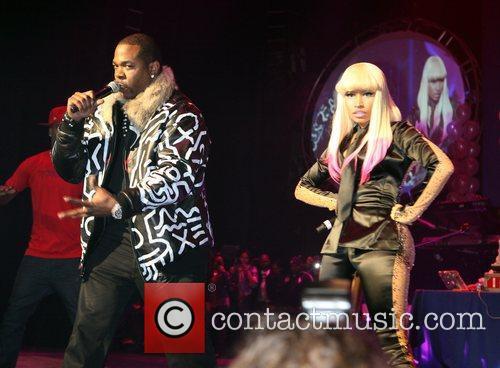 Nicki Minaj performs live at the Hammerstein Ballroom...