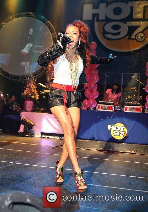 Keyshia Cole and Nicki Minaj 1