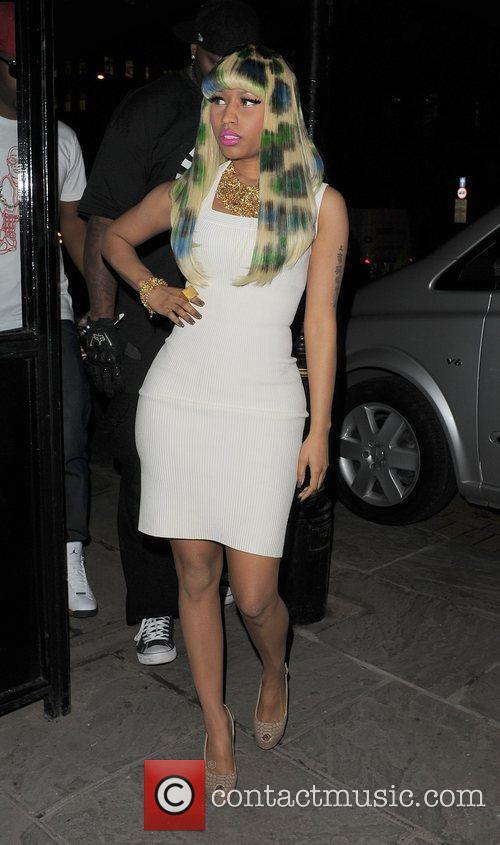 Nicki Minaj arrives at the Landmark hotel, having...