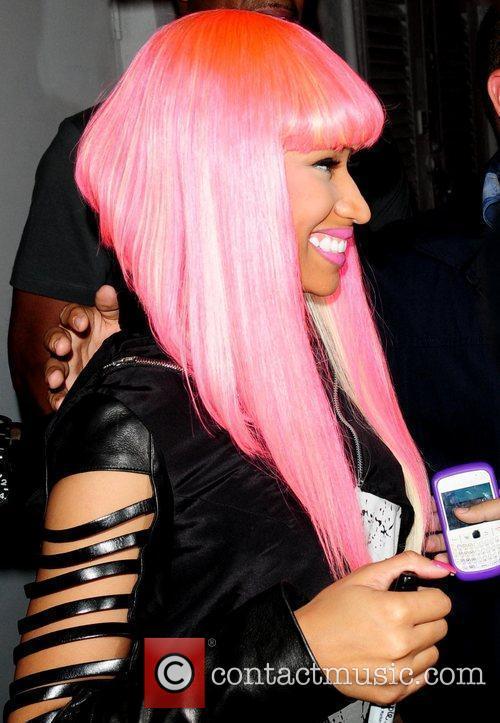 Leaving Pink Party at Mansion nightclub
