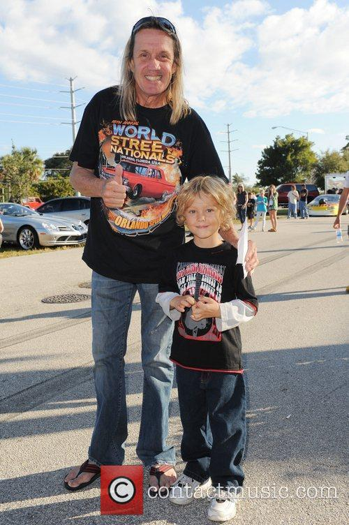 Nicko McBrain of Iron Maiden  poses with...