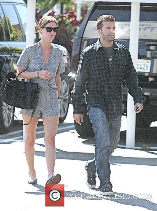 Nicky Hilton and boyfriend David Katzenberg shopping at...