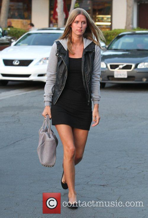 Nicky Hilton was spotted at County Market in...