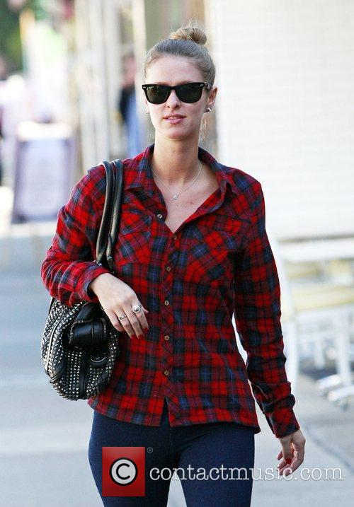 Nicky Hilton is spotted in West Hollywood