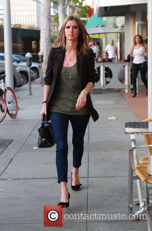 Nicky Hilton leaves California Pitta restaurant in Beverly...