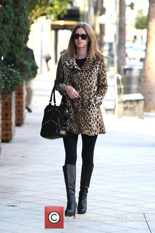 Out and about in Beverly Hills while wearing...