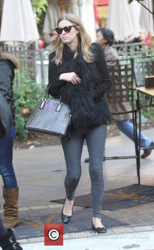 Nicky Hilton shopping with her mum at The...