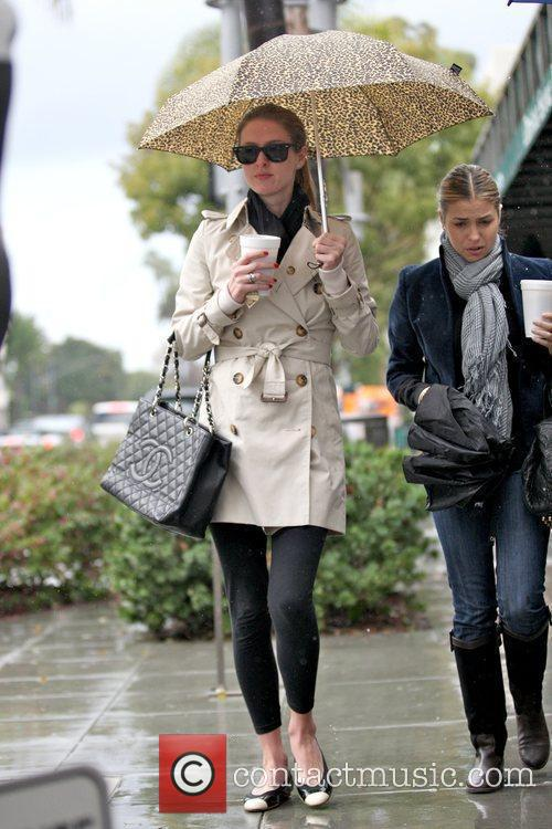 Nicky Hilton shopping in Beverly Hills with a...