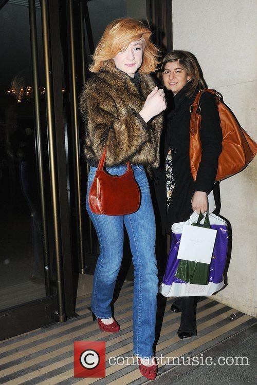 Nicola Roberts leaving Mayfair after shopping London, England