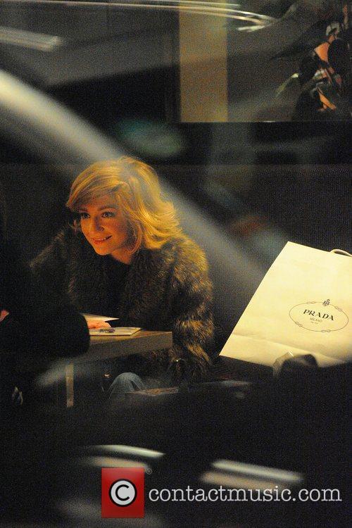 Nicola Roberts shopping in Mayfair