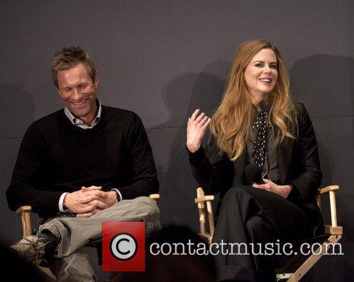 Aaron Eckhart and Nicole Kidman 'Meet the Filmmakers'...