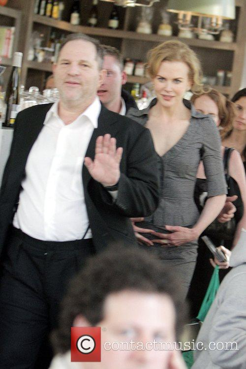 Nicole Kidman and Harvey Weinstein visit the Tavern...