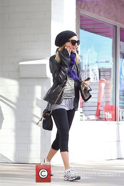 Nicole Richie leaving her gym in Studio City....