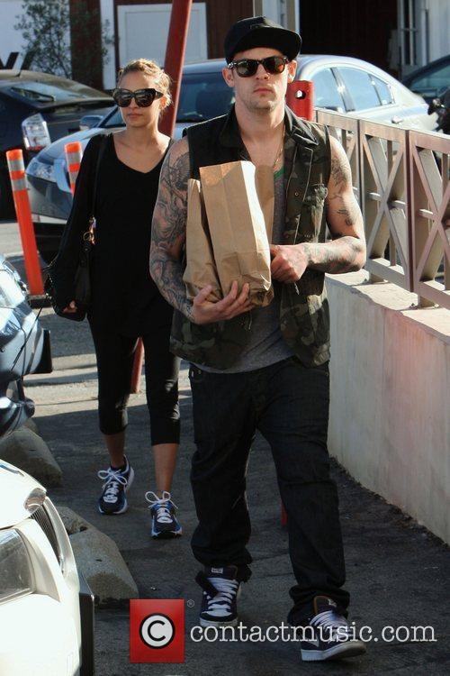 Nicole Richie and Joel Madden return to their...