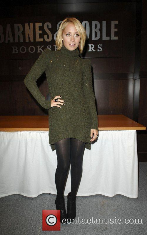 Promotes her book 'Priceless' at Barnes & Noble...